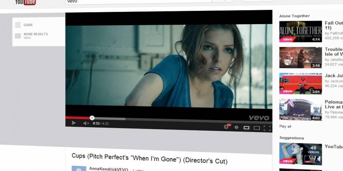 Google y Vevo llegan a acuerdo para retener miles de videoclips en YouTube