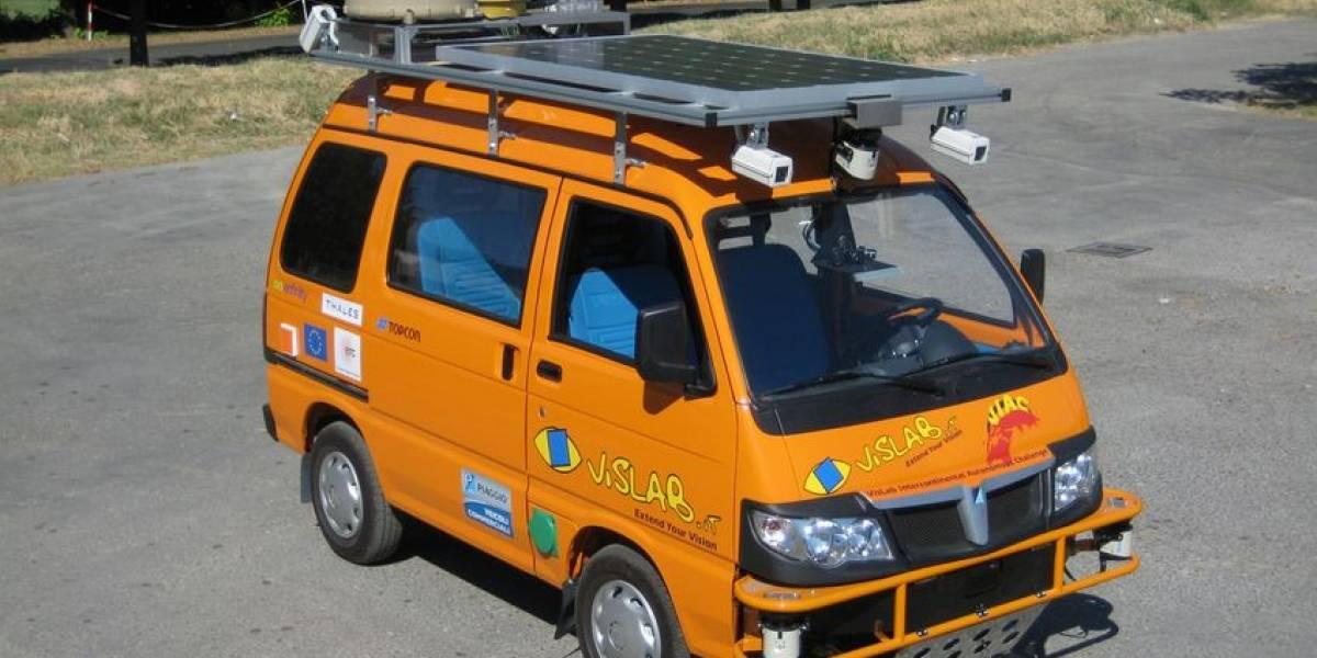 Auto sin chofer viajará de Italia a China
