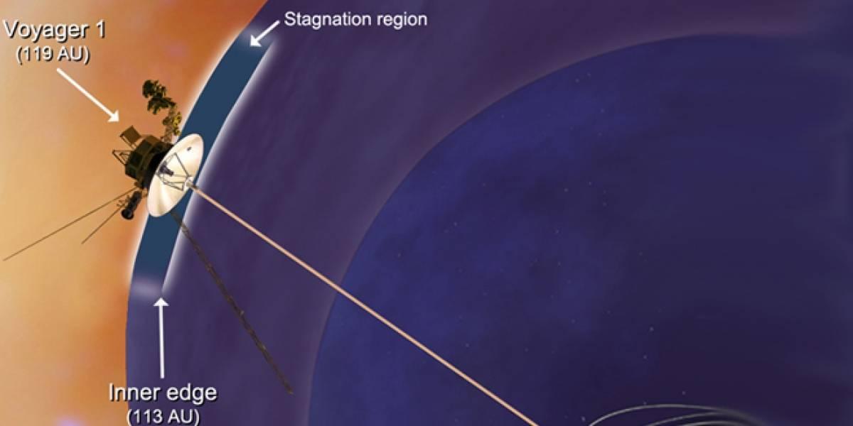 Sonda Voyager 1 llega a una nueva región al borde del sistema solar