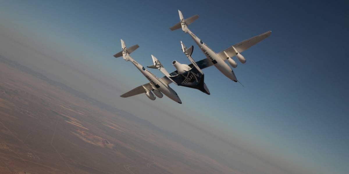 Millonarios se acercan al espacio tras primer vuelo tripulado de la VSS