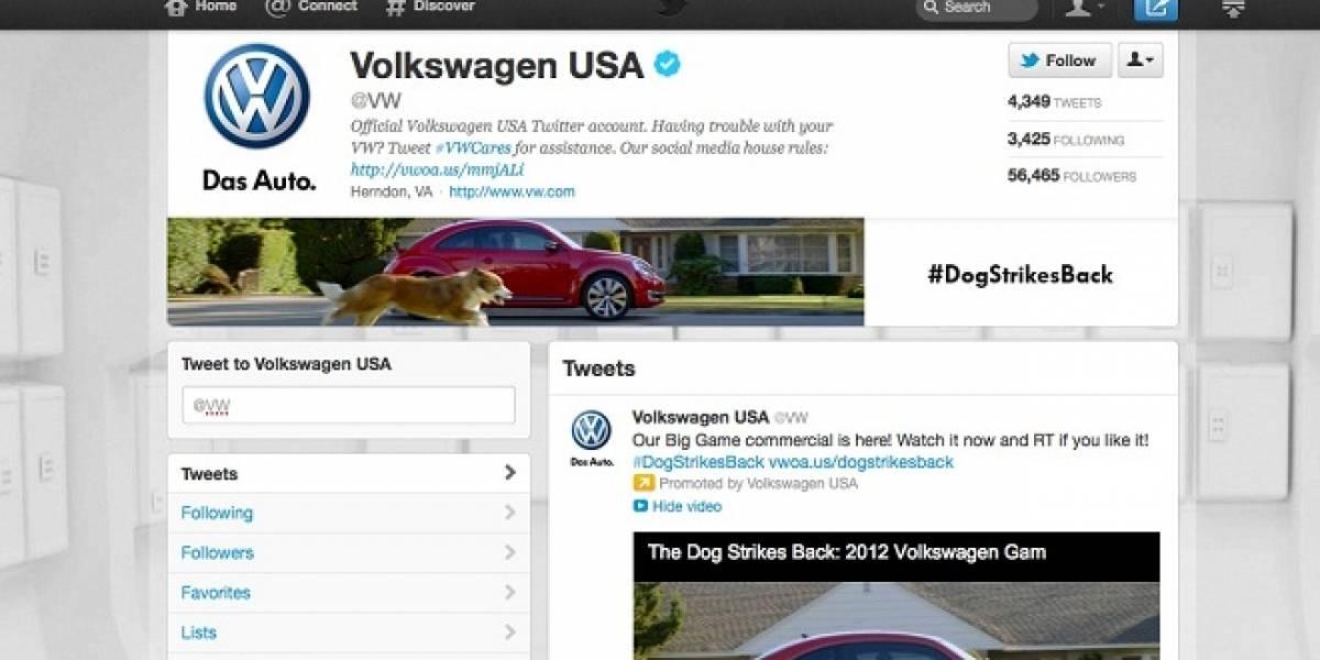 Más marcas tendrán páginas especiales en Twitter