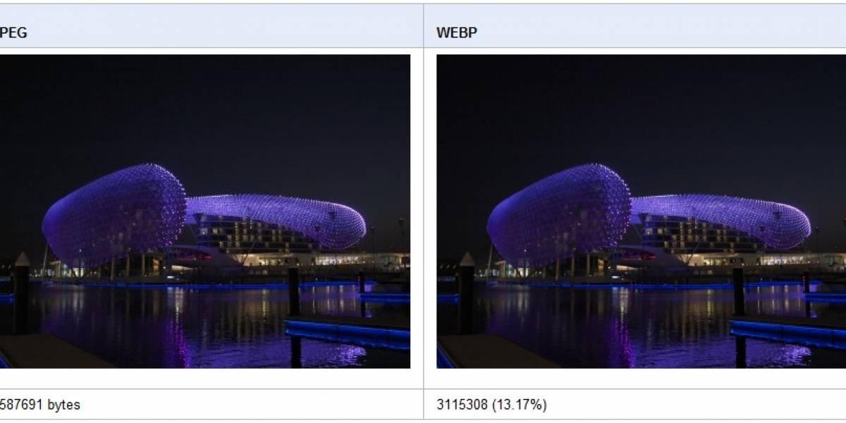 WebP: Nuevo formato de imágenes impulsado por Google