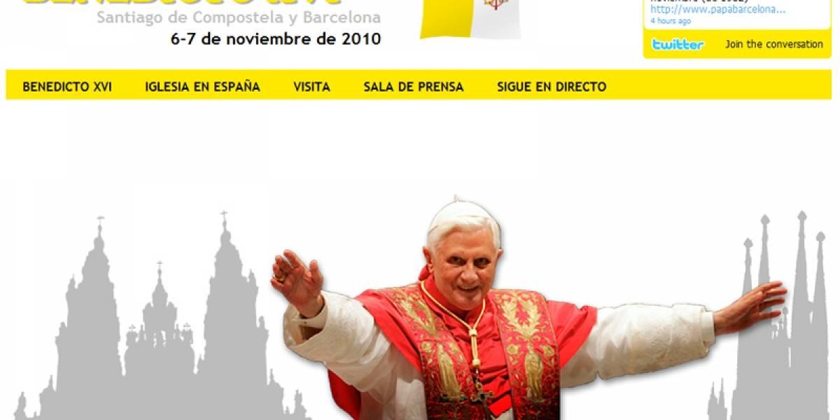 Papa Benedicto XVI realizará visita 2.0 a España