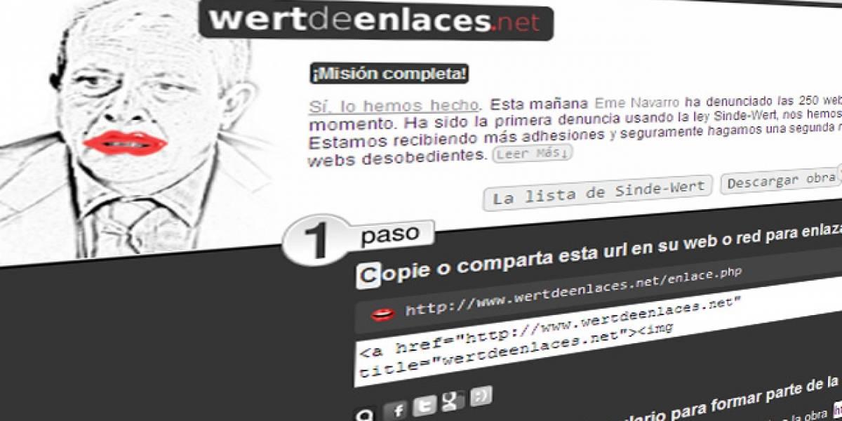 Desobediencia 2.0: Más de 200 webs se autoinculpan de violar la Ley Antidescargas