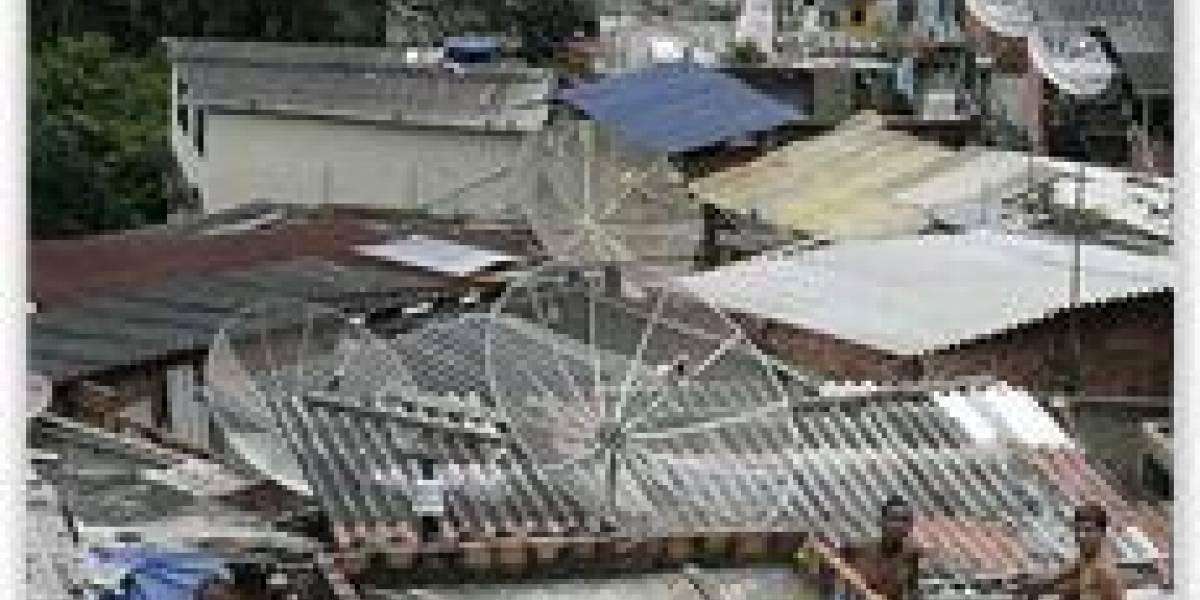 Favelas de Brasil acceden a internet inalámbrica gratis