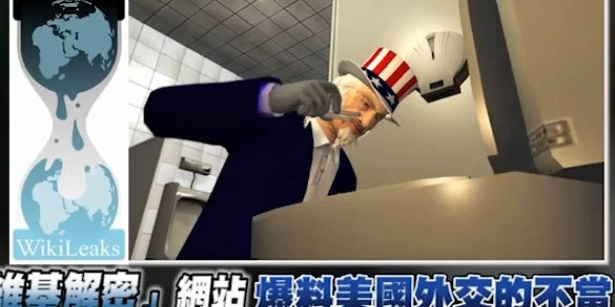 La filtración de Wikileaks según noticiario animado taiwanés (Video)