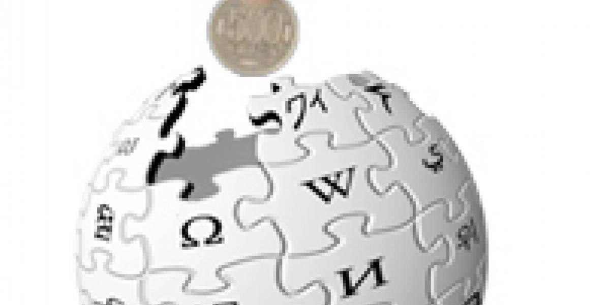 Wikipedia supera su meta recaudando 6,2 millones de dólares