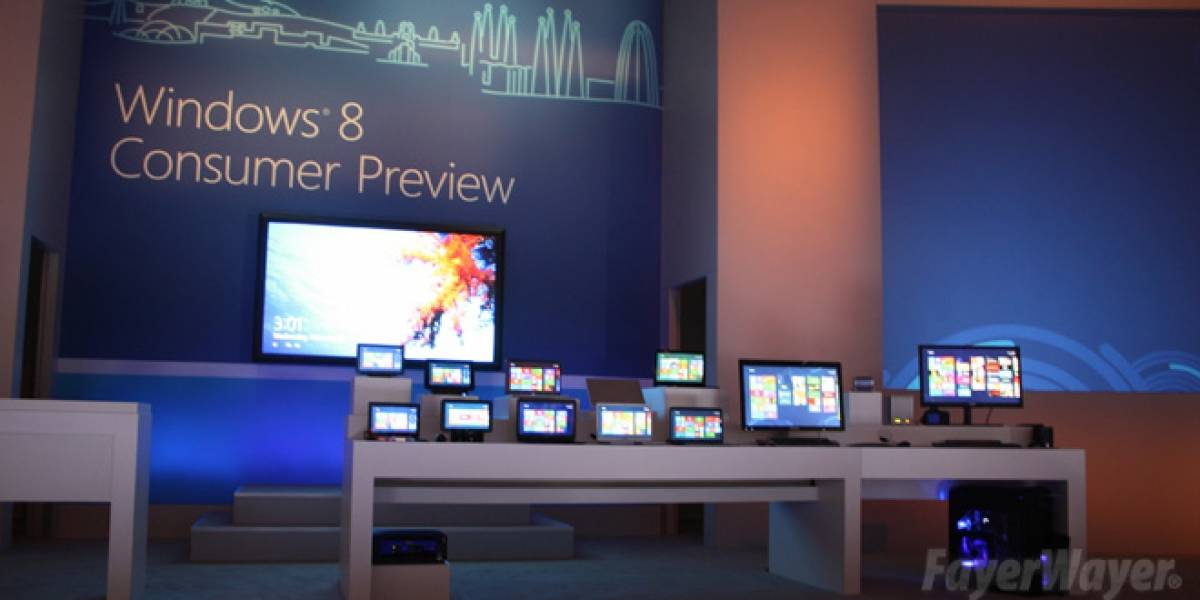 Todos los detalles de la presentación de Windows 8 Consumer Preview [FW Live]