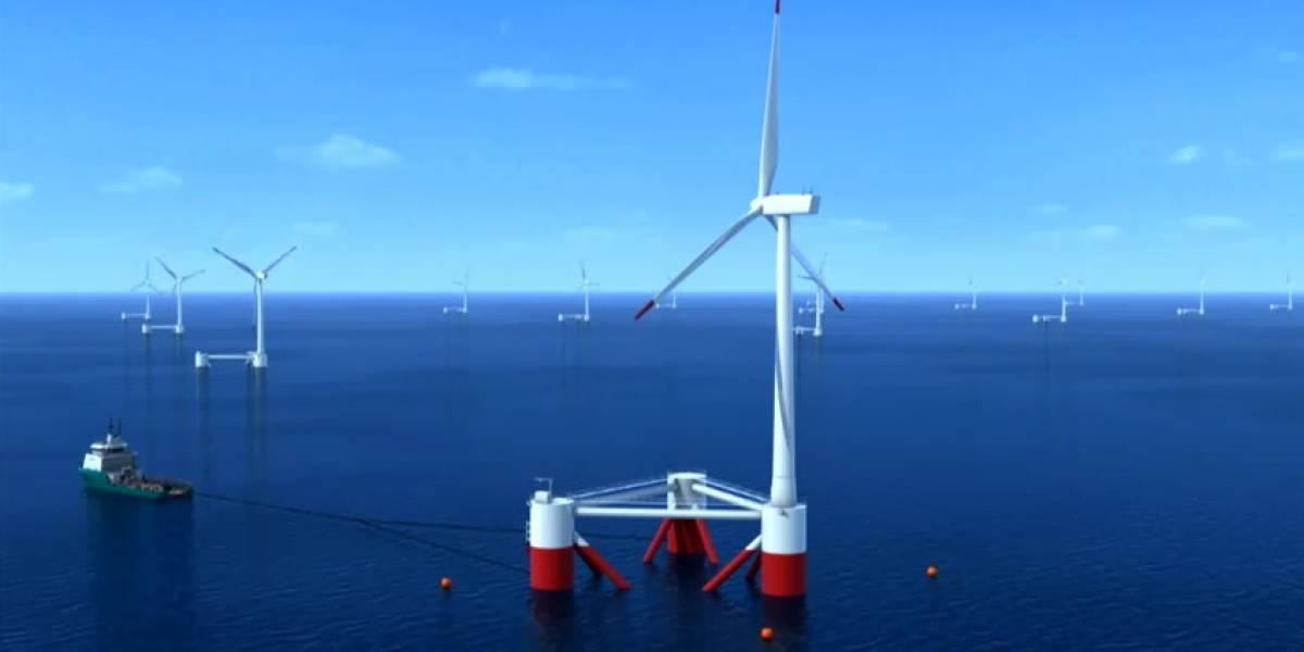 Windfloat: La primera turbina eólica flotante del mundo