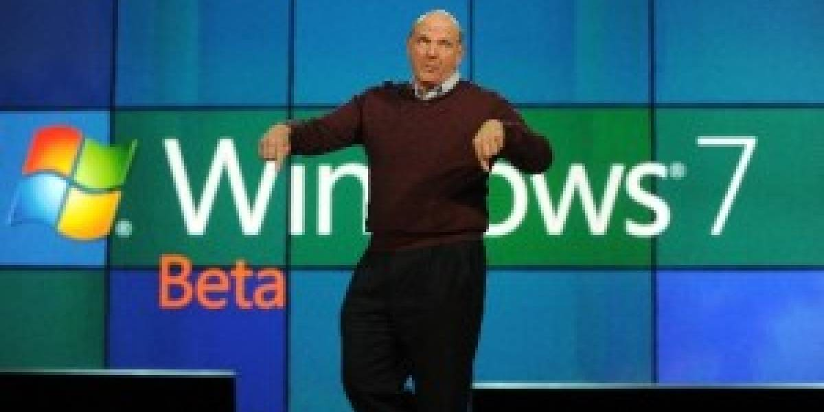 Microsoft elimina el límite de descargas de Windows 7 Beta