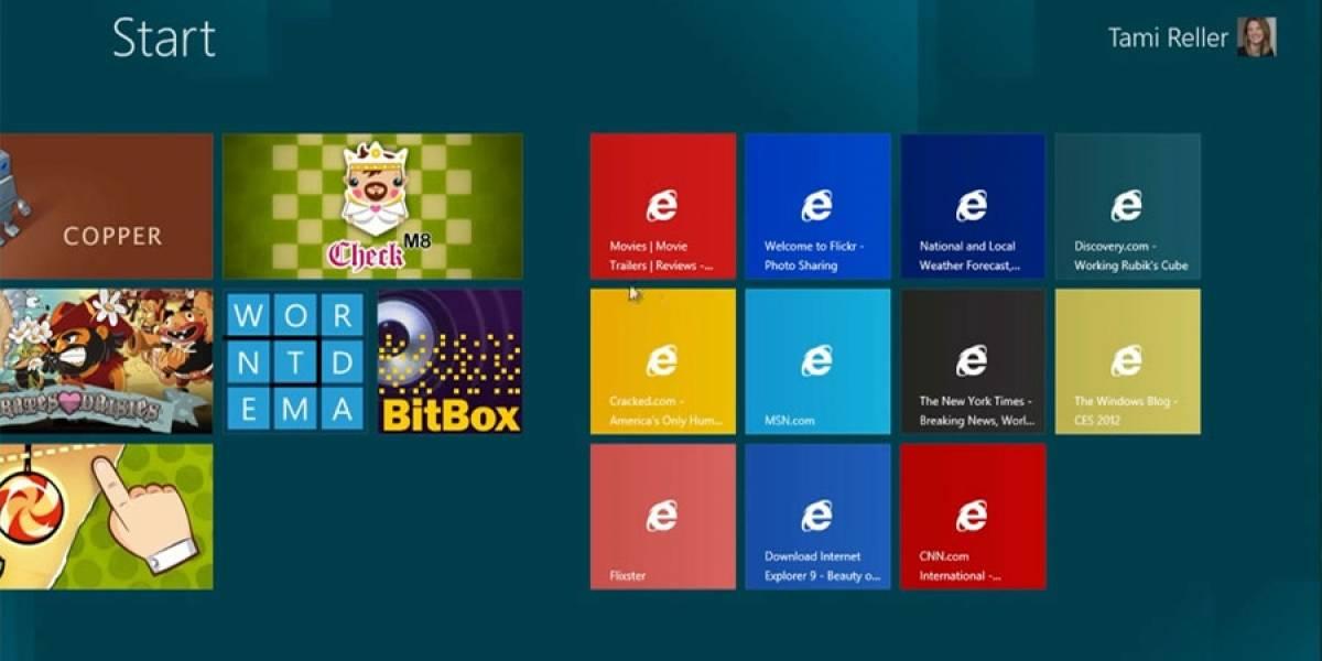 Windows 8 podría decirle adiós al botón de Inicio