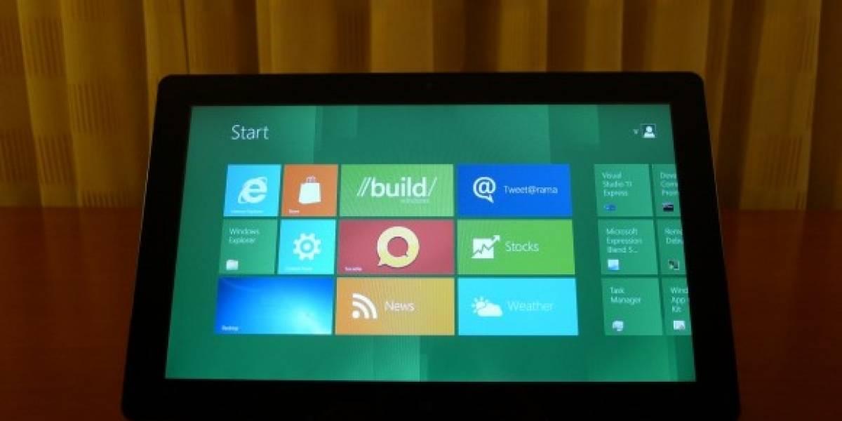 Futurología: Lenovo, Samsung y Toshiba encabezarían el desarrollo de tablets con Windows 8