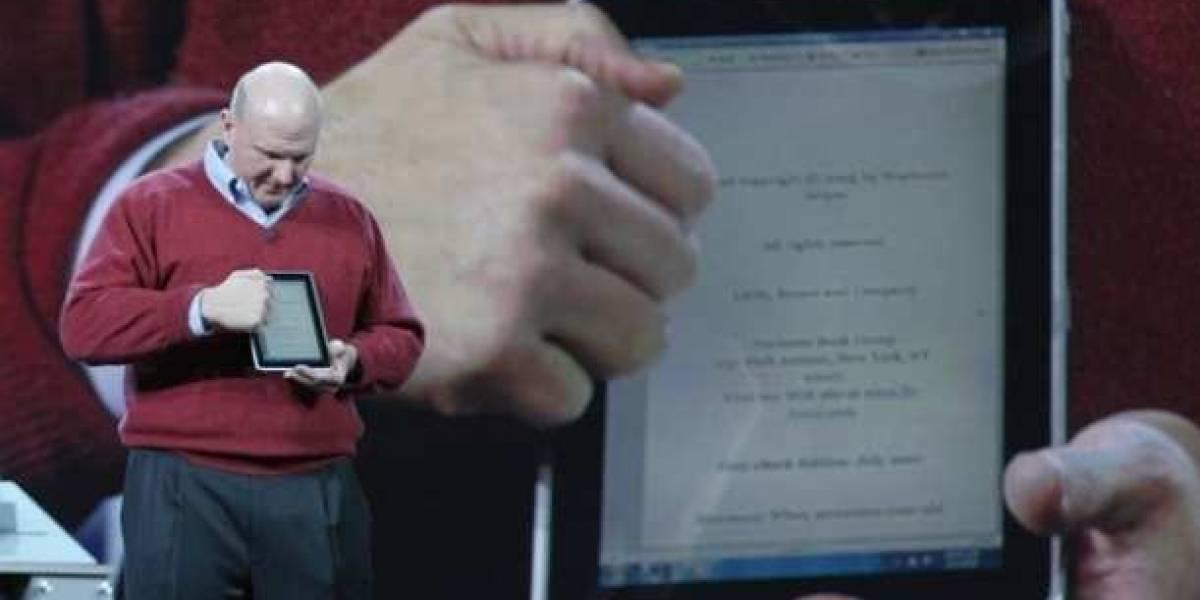 Futurología: Microsoft mostrará los primeros tablets con Windows 8 en junio