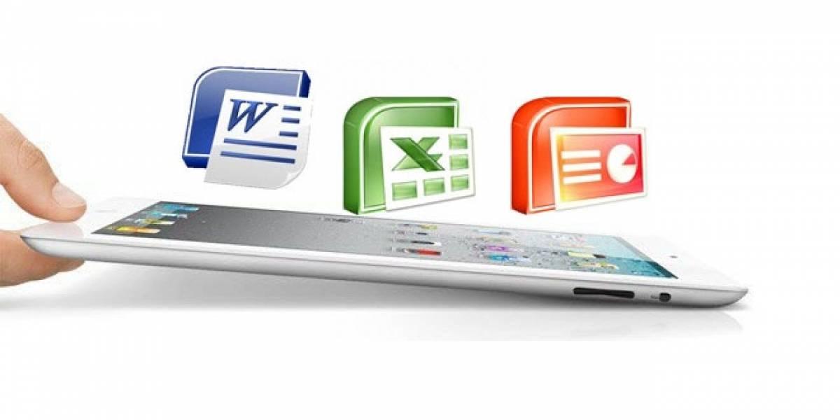 Futurología: Microsoft planea una versión de Office para iPad