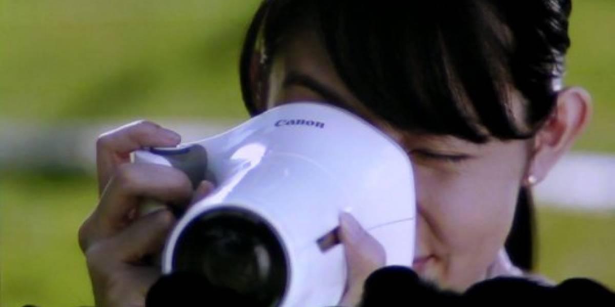 Canon presentó concepto de la cámara del futuro