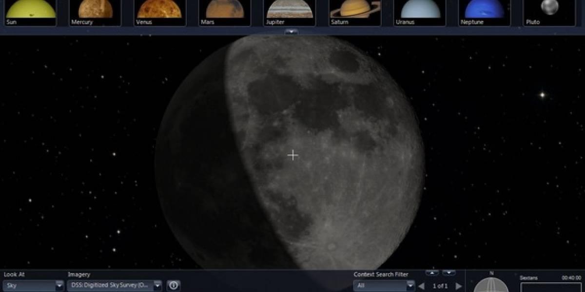 100 Terabytes del planeta Marte y de la Luna directo a tu casa vía Microsoft