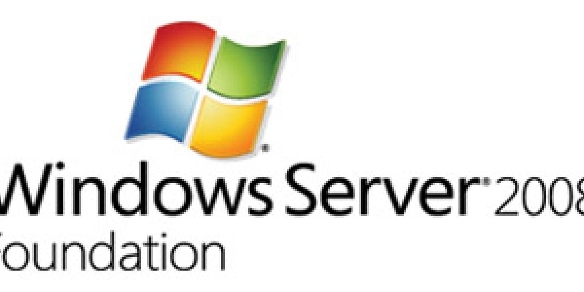 Microsoft lanza Windows Server 2008 Foundation
