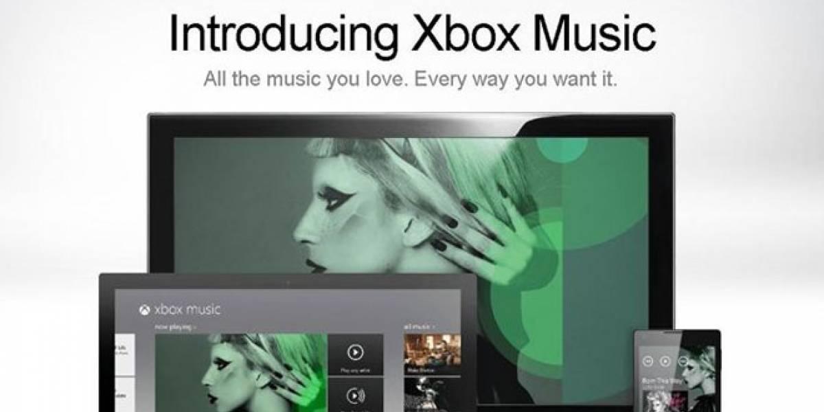 Xbox Music está por llegar: Microsoft anuncia detalles de su servicio de música