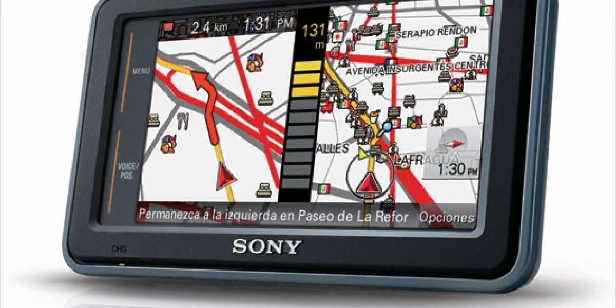 Xplod Navigation: El GPS de Sony en México