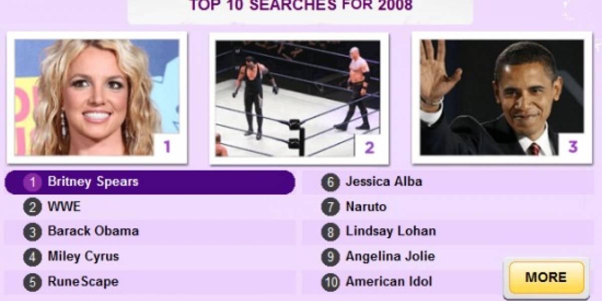 Britney Spears: Lo más buscado en el 2008 según Yahoo!