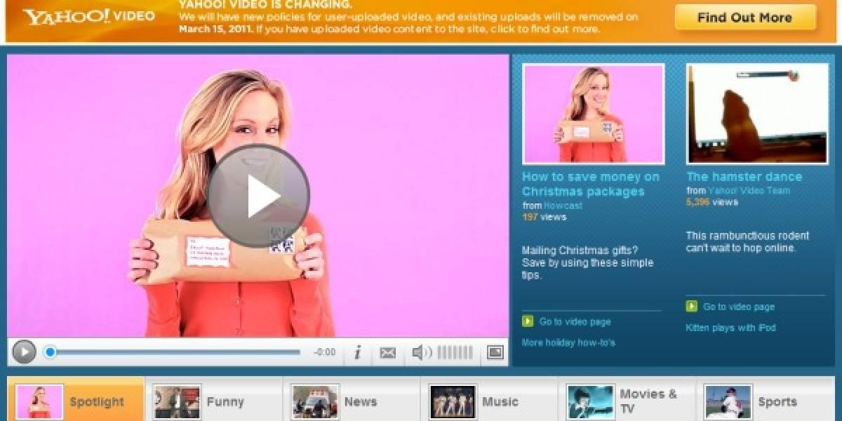 Futurología: Yahoo! Video cerraría sus puertas