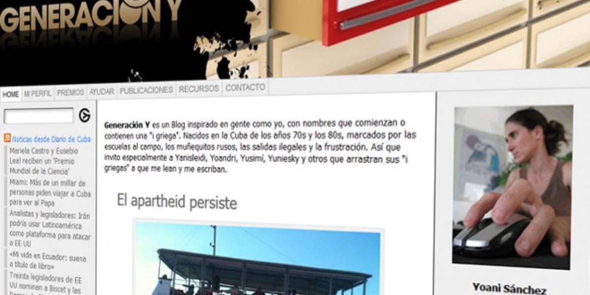 Proponen para el Nobel de la Paz a la bloguera cubana Yoani Sánchez