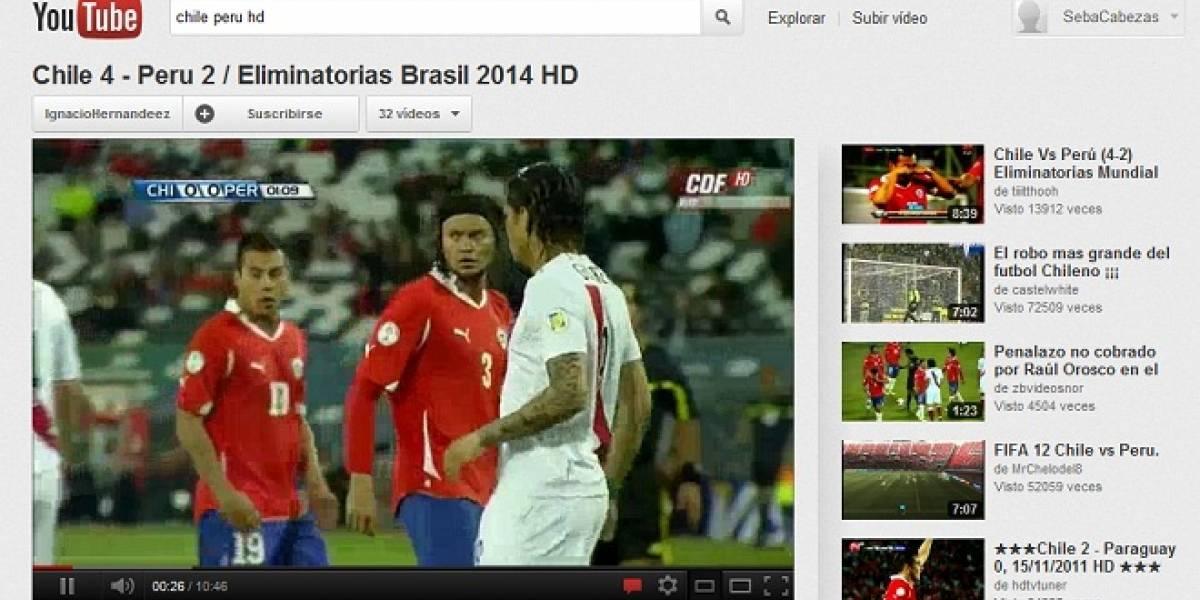 YouTube confirma que lanzará versiones locales para Chile y Perú dentro de dos meses