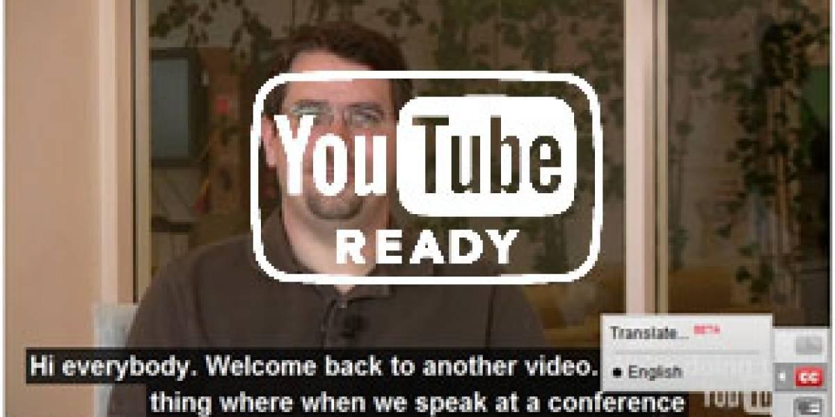 Youtube mejorará el subtitulado de videos con proveedores de servicios certificados
