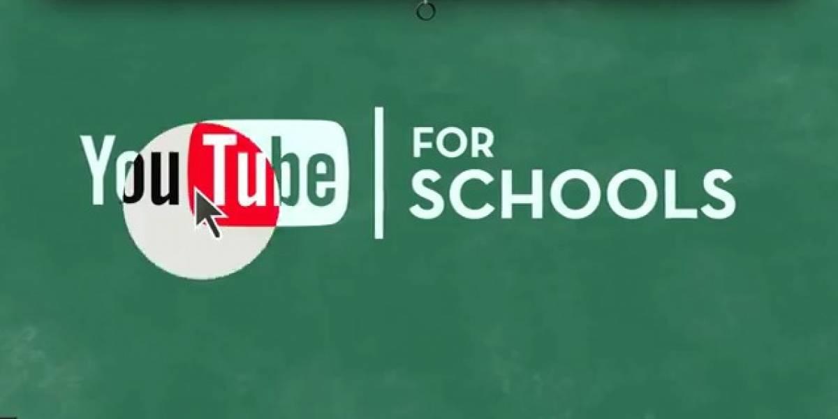 For Schools: La nueva plataforma educativa de YouTube