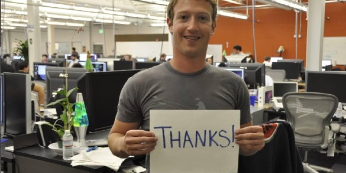 En 2012 Facebook iniciaría una oferta pública de venta de acciones