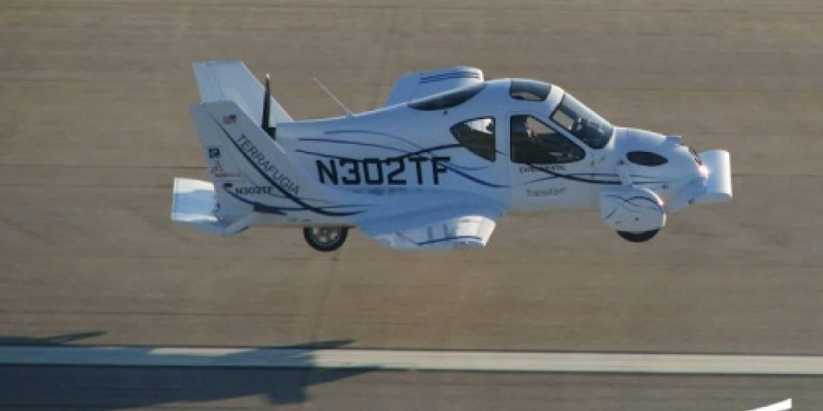 Terrafugia Transition: Una avioneta que también circula como automóvil