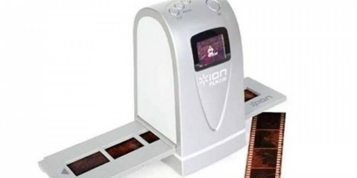 Film 2 SD: Escáner de negativos para rescatar tus fotos en 35mm