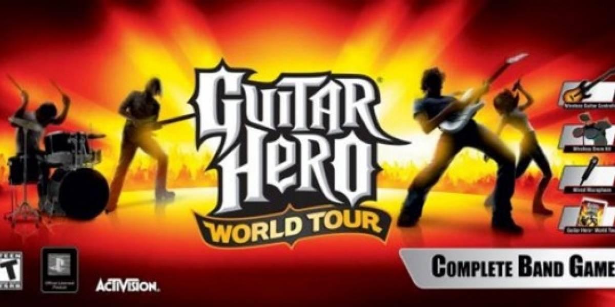 Guitar Hero World Tour llegará pronto a tu PC o Mac