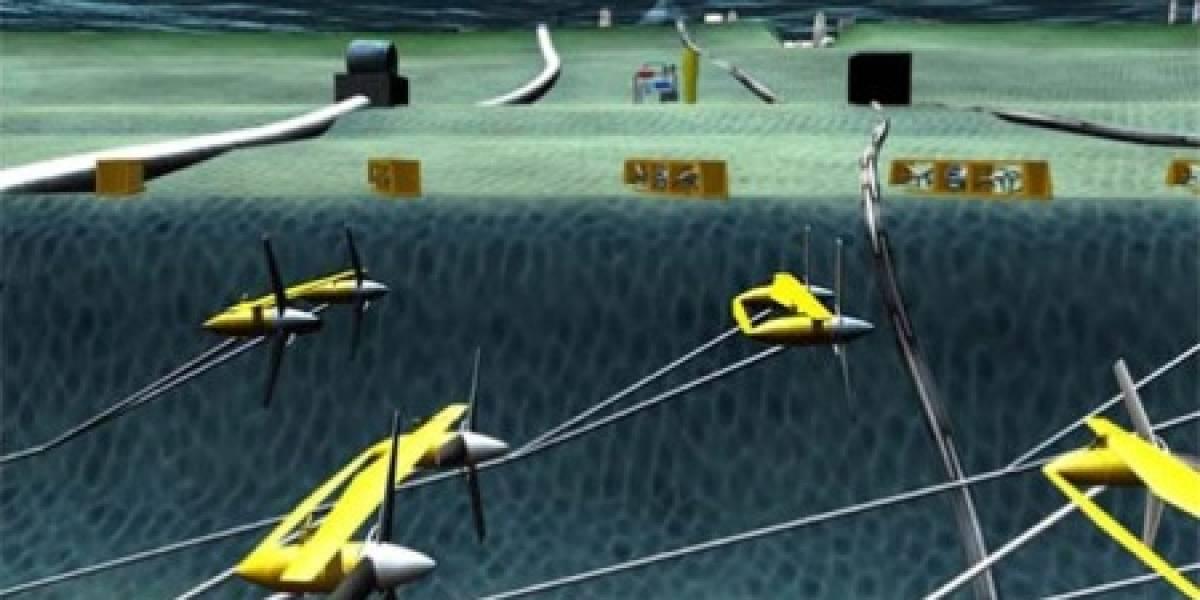 Desarrollan turbina marina para producir energía limpia