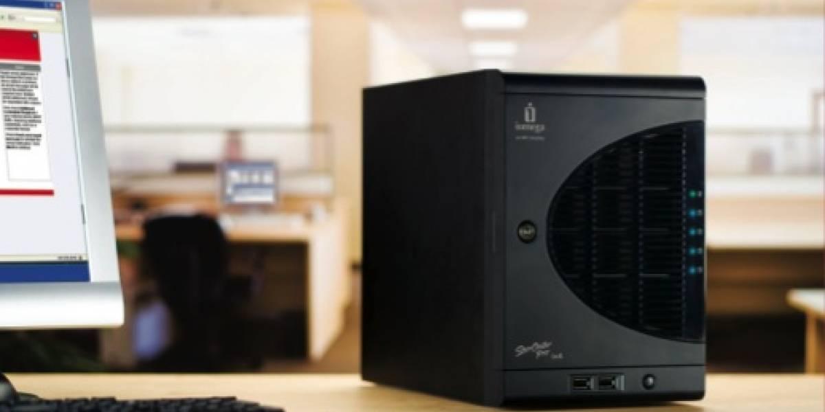 Iomega lanza discos NAS StorCenter Pro ix4-100 de 2 y 4TB
