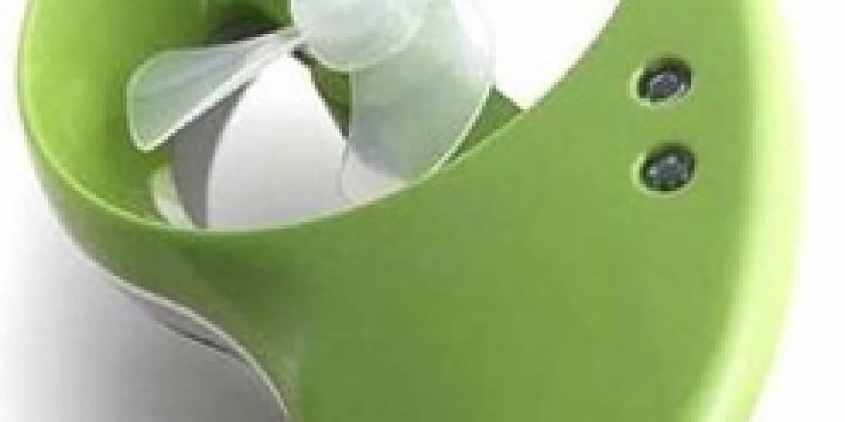 Cargador portátil eólico Hymini