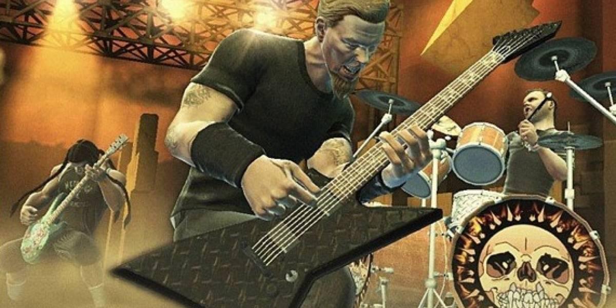 Guitar Hero: Metallica ya tiene su lista de canciones