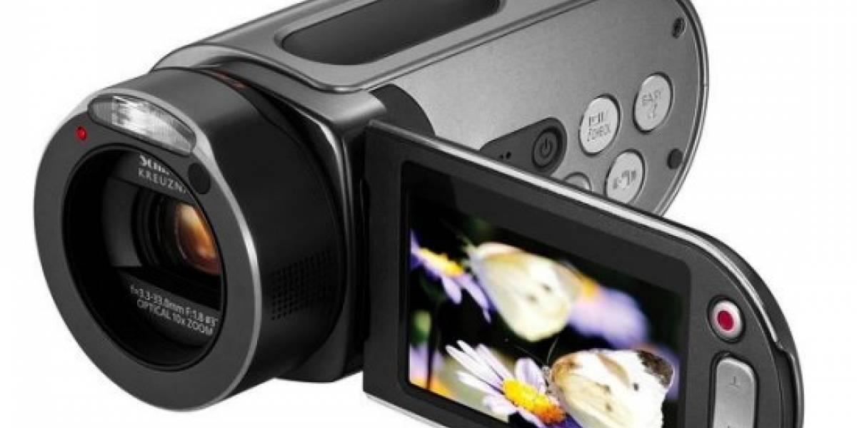 HMX-H106: Samsung presenta su cámara de video HD con SSD de 64GB