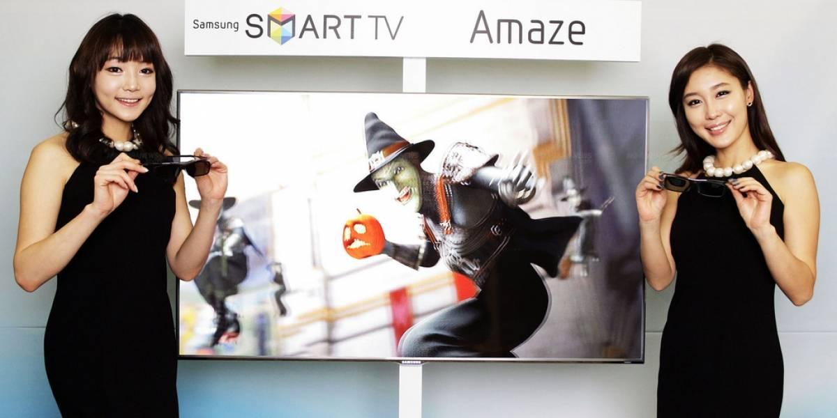Samsung 3D Smart TV con gafas mejoradas para reducir la fatiga de los ojos