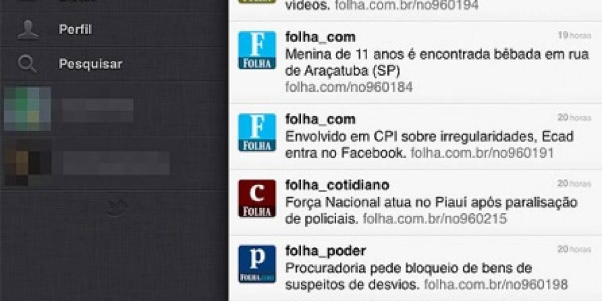Aplicación de Twitter para iPhone, iPad y iPod Touch ya está disponible en portugués