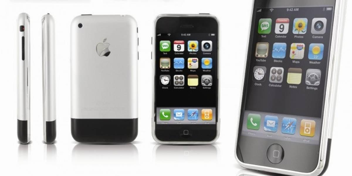 ¿Cuáles fueron los celulares que se lanzaron el mismo año que el iPhone?
