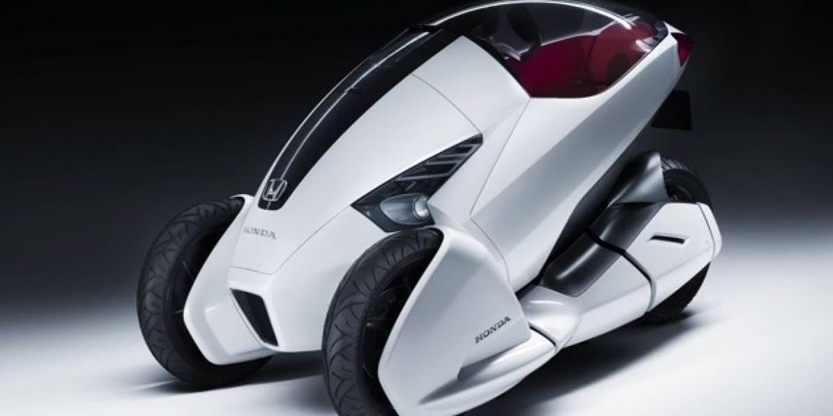 Honda 3R-C, un concepto para el transporte personal a 3 ruedas