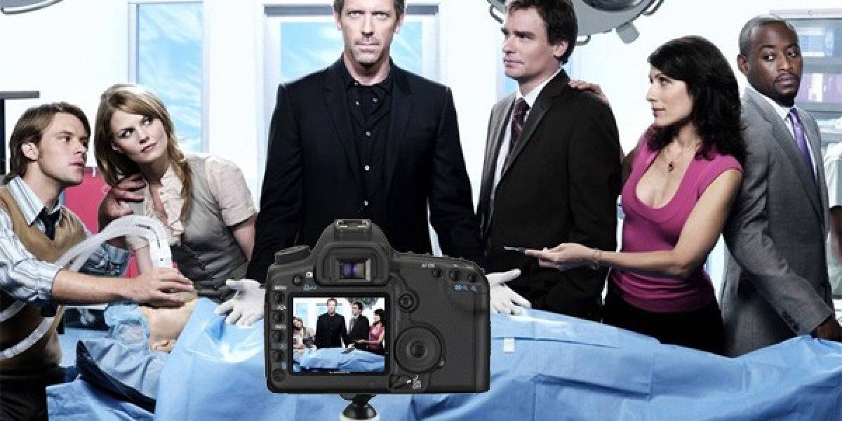 Filman final de temporada de House M.D. con una Canon 5D Mark II