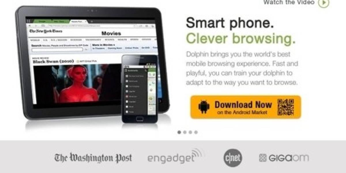Dolphin hasta el fin: navegador web recibe inyección de capital para desarrollo