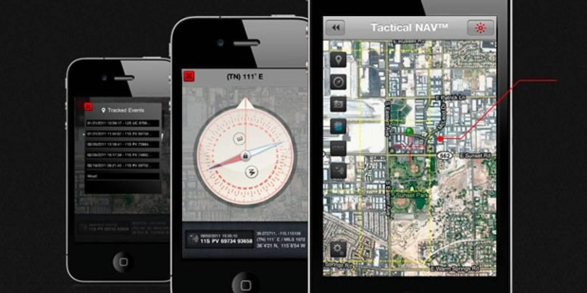 WTF! Tactical NAV, la aplicación de guerra que te ayuda a localizar talibanes