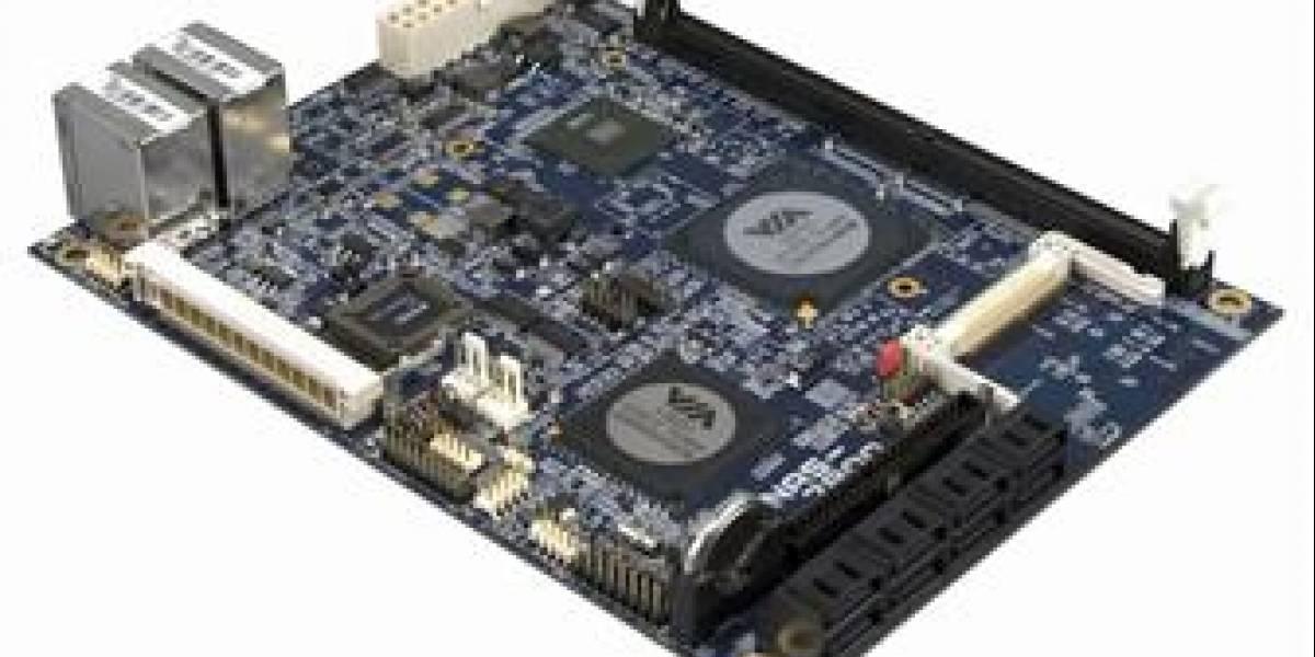VIA placa para NAS y servidores ultra delgados