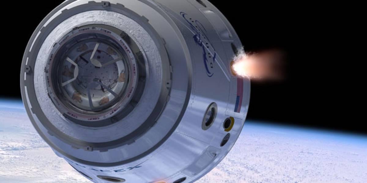 SpaceX asegura que su cápsula Dragon puede transportar astronautas a la ISS