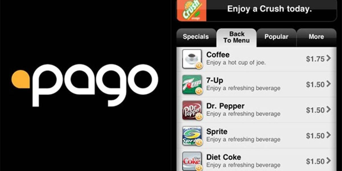 Pago, una app que convierte tu smartphone en un camarero