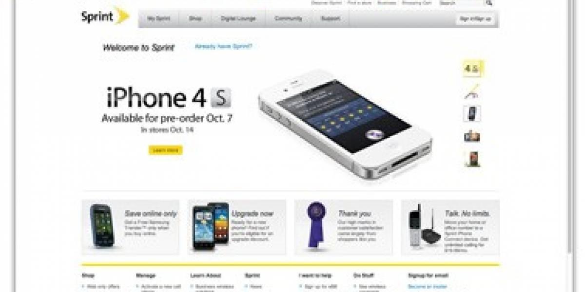 Sprint no venderá el iPhone 4S desbloqueado