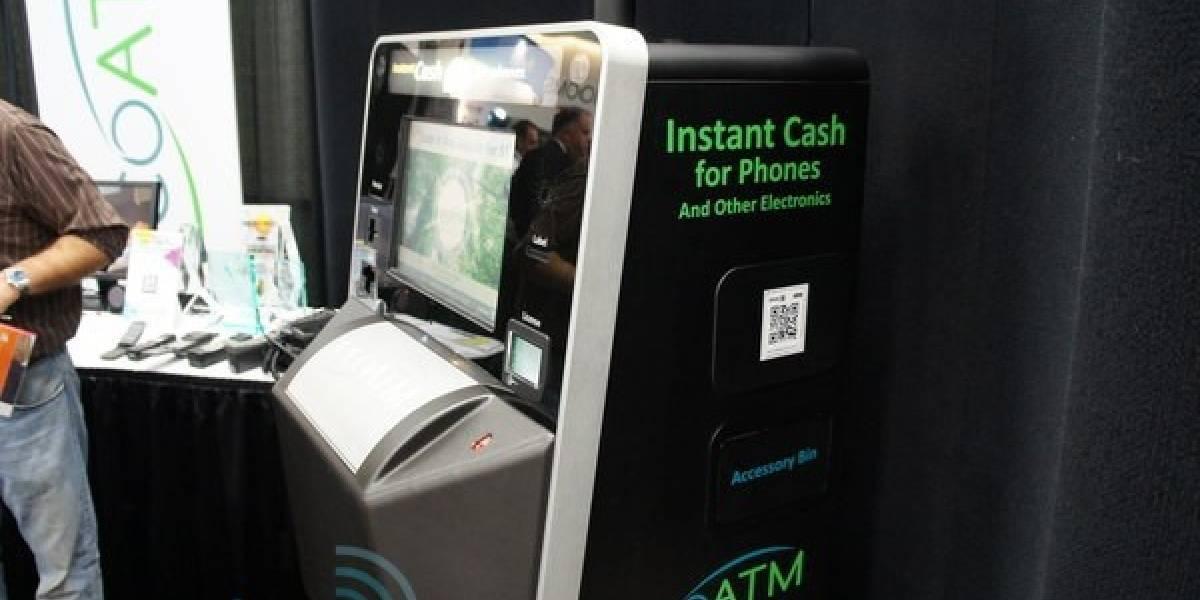 EcoATM crea una máquina que recibe tu celular viejo y te da dinero fresco